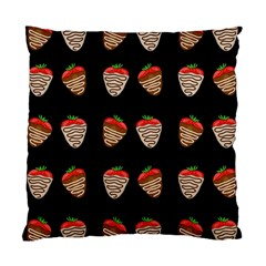Chocolate Strawberies Standard Cushion Case (one Side)