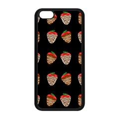 Chocolate Strawberies Apple Iphone 5c Seamless Case (black) by Valentinaart