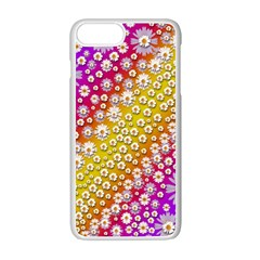 Falling Flowers From Heaven Apple Iphone 7 Plus White Seamless Case by pepitasart