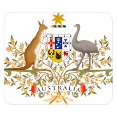 Coat Of Arms Of Australia Double Sided Flano Blanket (small)  by abbeyz71