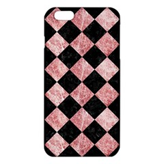 Square2 Black Marble & Red & White Marble Iphone 6 Plus/6s Plus Tpu Case by trendistuff
