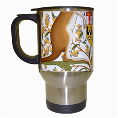 Coat Of Arms Of Australia Travel Mugs (white) by abbeyz71