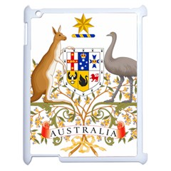 Coat Of Arms Of Australia Apple Ipad 2 Case (white) by abbeyz71
