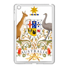 Coat Of Arms Of Australia Apple Ipad Mini Case (white) by abbeyz71