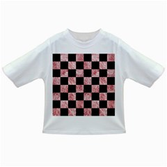 Square1 Black Marble & Red & White Marble Infant/toddler T Shirt