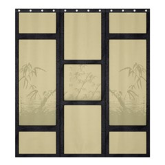Tatami - Bamboo Shower Curtain 66  X 72  (large)  by Tatami