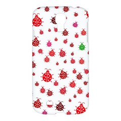 Beetle Animals Red Green Fly Samsung Galaxy S4 I9500/i9505 Hardshell Case by Amaryn4rt