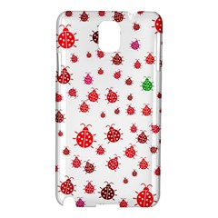 Beetle Animals Red Green Fly Samsung Galaxy Note 3 N9005 Hardshell Case by Amaryn4rt