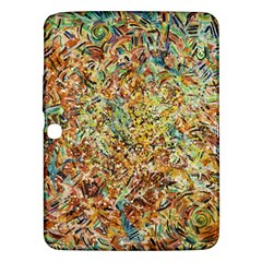 Art Modern Painting Acrylic Canvas Samsung Galaxy Tab 3 (10 1 ) P5200 Hardshell Case  by Amaryn4rt