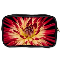 Bloom Blossom Close Up Flora Toiletries Bags by Amaryn4rt