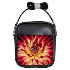 Bloom Blossom Close Up Flora Girls Sling Bags by Amaryn4rt