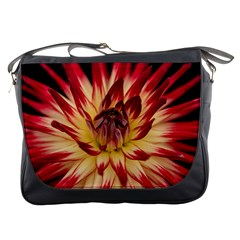Bloom Blossom Close Up Flora Messenger Bags by Amaryn4rt