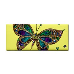 Butterfly Mosaic Yellow Colorful Cosmetic Storage Cases by Amaryn4rt