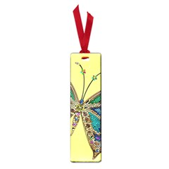 Butterfly Mosaic Yellow Colorful Small Book Marks by Amaryn4rt