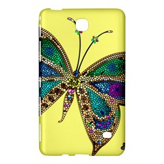 Butterfly Mosaic Yellow Colorful Samsung Galaxy Tab 4 (8 ) Hardshell Case  by Amaryn4rt