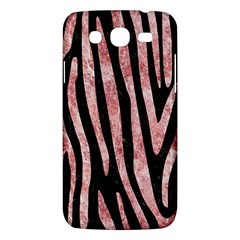 Skin4 Black Marble & Red & White Marble (r) Samsung Galaxy Mega 5 8 I9152 Hardshell Case  by trendistuff