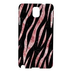 Skin3 Black Marble & Red & White Marble Samsung Galaxy Note 3 N9005 Hardshell Case by trendistuff