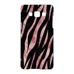 Skin3 Black Marble & Red & White Marble Samsung Galaxy A5 Hardshell Case  by trendistuff
