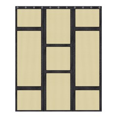 Tatami Shower Curtain 60  X 72  (medium) by Tatami