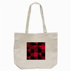 Cube Square Block Shape Creative Tote Bag (cream)