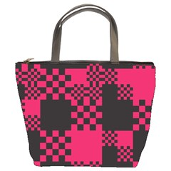 Cube Square Block Shape Creative Bucket Bags by Amaryn4rt