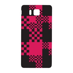 Cube Square Block Shape Creative Samsung Galaxy Alpha Hardshell Back Case by Amaryn4rt