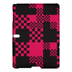 Cube Square Block Shape Creative Samsung Galaxy Tab S (10 5 ) Hardshell Case  by Amaryn4rt