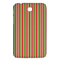 Pattern Background Red White Green Samsung Galaxy Tab 3 (7 ) P3200 Hardshell Case