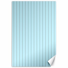 Stripes Striped Turquoise Canvas 24  X 36