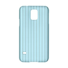 Stripes Striped Turquoise Samsung Galaxy S5 Hardshell Case