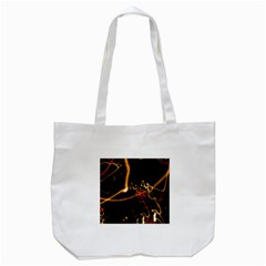 Abstract Tote Bag (white) by Amaryn4rt