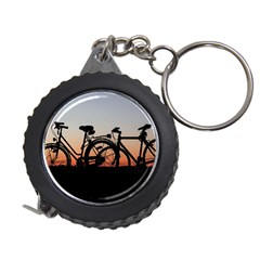 Bicycles Wheel Sunset Love Romance Measuring Tapes by Amaryn4rt