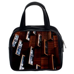 Abstract Architecture Building Business Classic Handbags (2 Sides) by Amaryn4rt