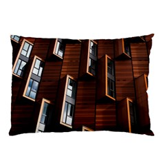 Abstract Architecture Building Business Pillow Case by Amaryn4rt