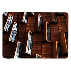 Abstract Architecture Building Business Samsung Galaxy Tab 8 9  P7300 Flip Case by Amaryn4rt