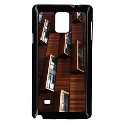 Abstract Architecture Building Business Samsung Galaxy Note 4 Case (black) by Amaryn4rt