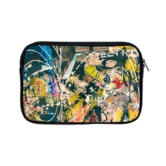 Art Graffiti Abstract Vintage Lines Apple Ipad Mini Zipper Cases