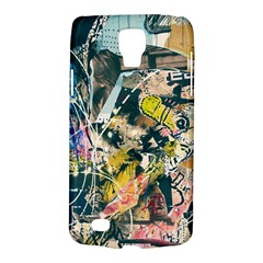 Art Graffiti Abstract Vintage Lines Galaxy S4 Active by Amaryn4rt