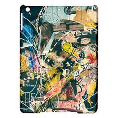 Art Graffiti Abstract Vintage Lines Ipad Air Hardshell Cases by Amaryn4rt
