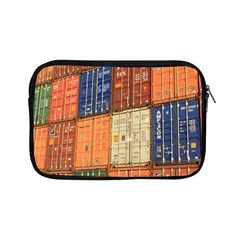 Blue White Orange And Brown Container Van Apple Ipad Mini Zipper Cases by Amaryn4rt