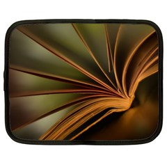Book Screen Climate Mood Range Netbook Case (xl)  by Amaryn4rt