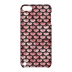 Scales3 Black Marble & Red & White Marble (r) Apple Ipod Touch 5 Hardshell Case With Stand by trendistuff