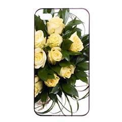Bouquet Flowers Roses Decoration Apple Iphone 4/4s Seamless Case (black) by Amaryn4rt