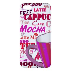 Coffee Cup Lettering Coffee Cup Apple Iphone 5 Premium Hardshell Case