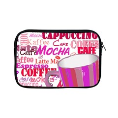 Coffee Cup Lettering Coffee Cup Apple Ipad Mini Zipper Cases by Amaryn4rt