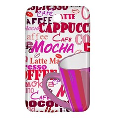 Coffee Cup Lettering Coffee Cup Samsung Galaxy Tab 3 (7 ) P3200 Hardshell Case  by Amaryn4rt