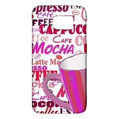 Coffee Cup Lettering Coffee Cup Galaxy S6 by Amaryn4rt