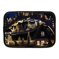 Christmas Advent Candle Arches Netbook Case (medium)  by Amaryn4rt
