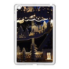 Christmas Advent Candle Arches Apple Ipad Mini Case (white) by Amaryn4rt