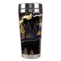 Christmas Advent Candle Arches Stainless Steel Travel Tumblers by Amaryn4rt